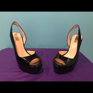 Jessica Simpson Slingback Heels Patent Leather 7.5
